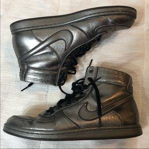 Nike Air Scandal Mid Rise Hi-Top Pewter Sneakers